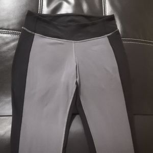 Lululemon grey front black back leggings
